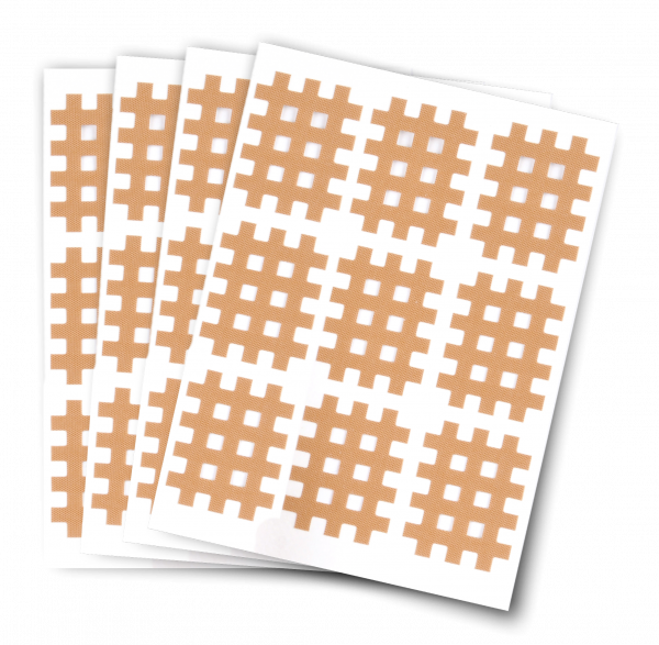 Gittertapes Größe S. M,L Packung mit 5 Bögen
