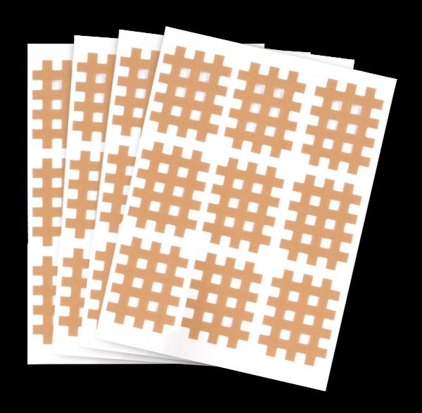 Gittertapes Größen S,M,L Packung mit 20 Bögen