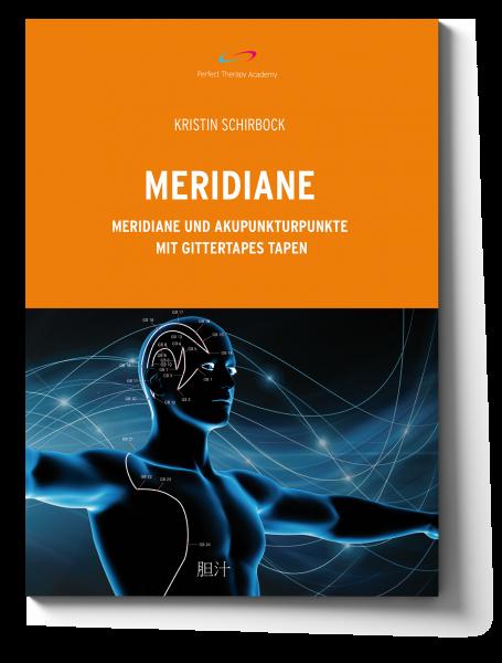 Meridiane. Meridiane und Akupunkturpunkte mit Gittertapes tapen